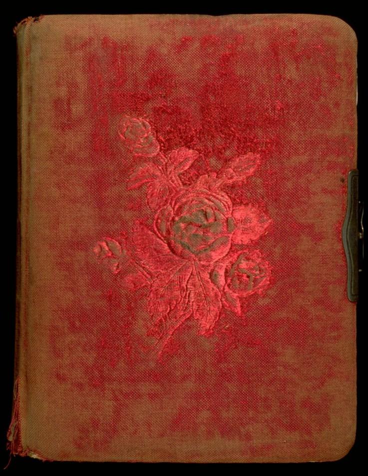 """Historia Occulta"", 1993, Cover, Handmade book, edition of 1"