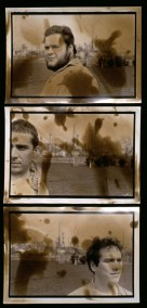 Kepone, 1993, Hopewell, Va, set of 3 chemically stained Gelatin Silver prints