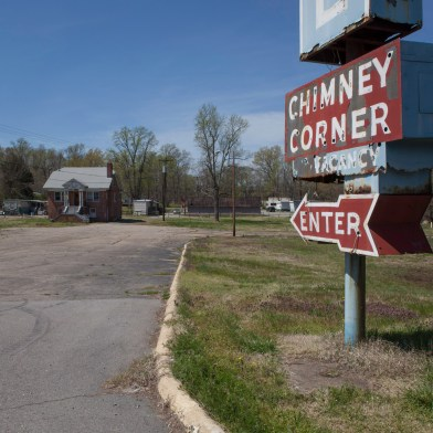 Chimney Corner Sign No. 2, Jefferson Davis Highway, Virginia, 2011