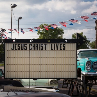 Select Car Sales Sign, Jefferson Davis Highway, Virginia, 2011