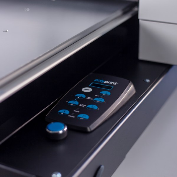 Control Panel - Polyprint TexJet echo² Direct To Garment Printer