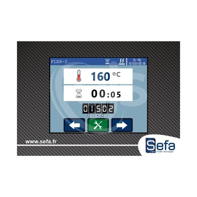 Control Panel - Sefa ROTEX AIR PRO Heat Press