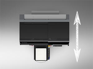 F3030 DTG printer depth