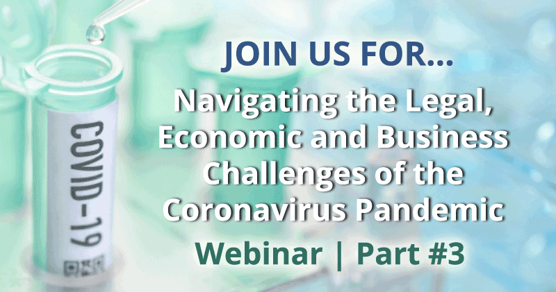 Coronavirus – Workplace Management Considerations for Employers Webinar hosted by Nelson Mullins Part 3