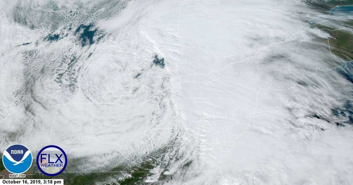 Finger Lakes Weather regional satellite imagery