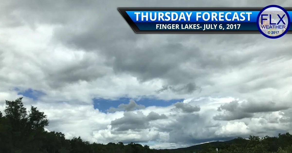 finger lakes weather forecast rain thunderstorm