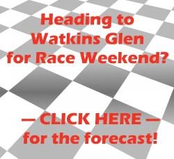 watkins glen international weather forecast nascar