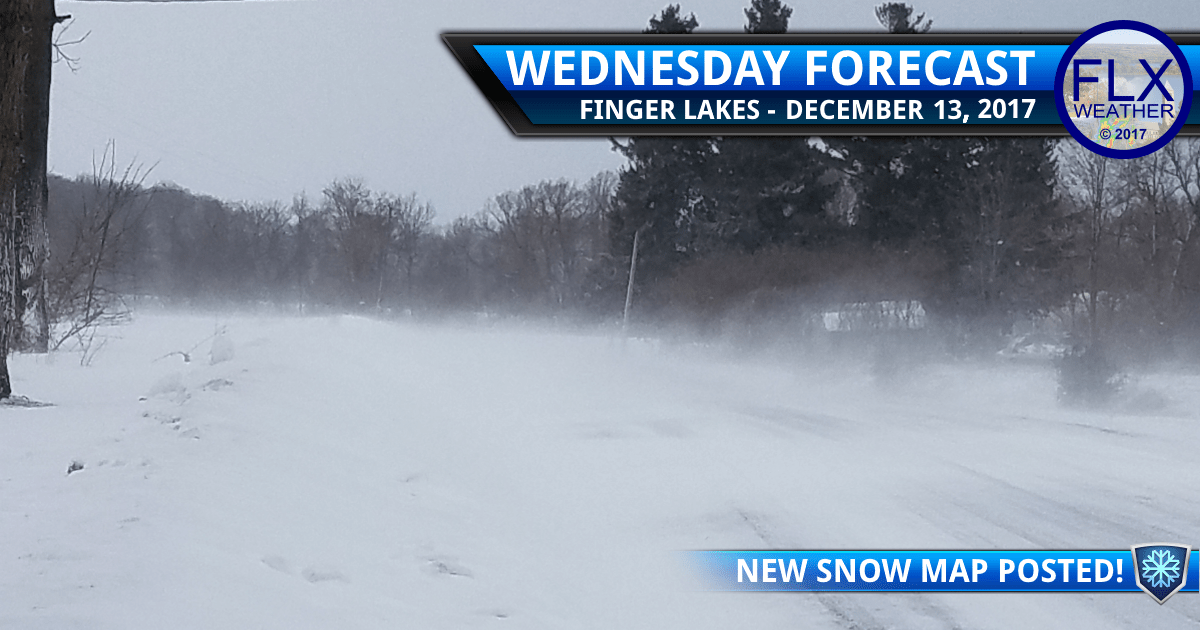 finger lakes weather forecast snow wind blowing snow wednesday december 13 2017