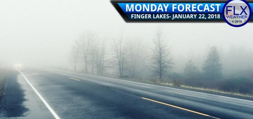 finger lakes weather forecast monday janaury 22 2018 fog rain