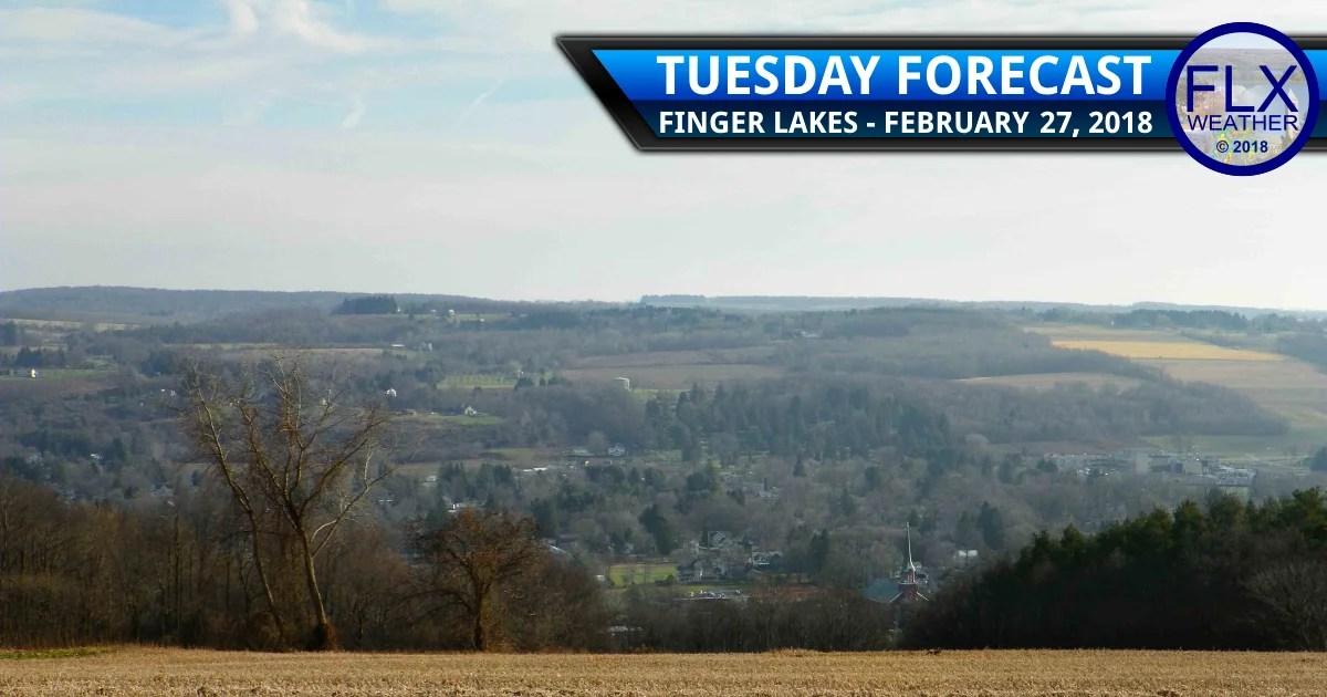 finger lakes weather forecast tuesday february 27 2018 sun warm