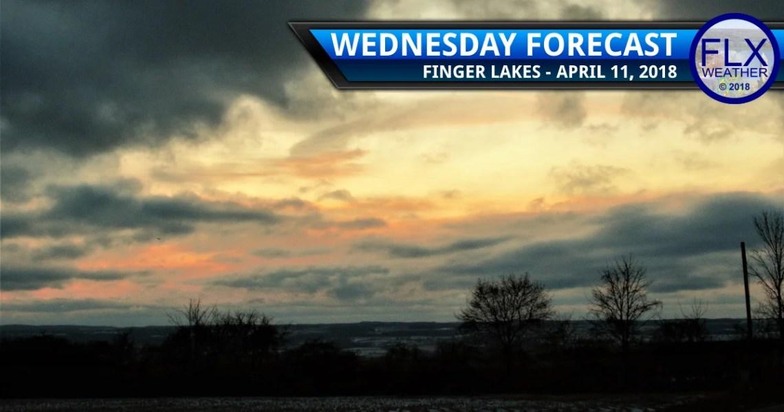 finger lakes weather forecast wednesday april 11 2018 rain snow