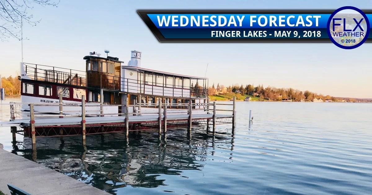 finger lakes weather forecast wednesday may 9 2018 sunny warm