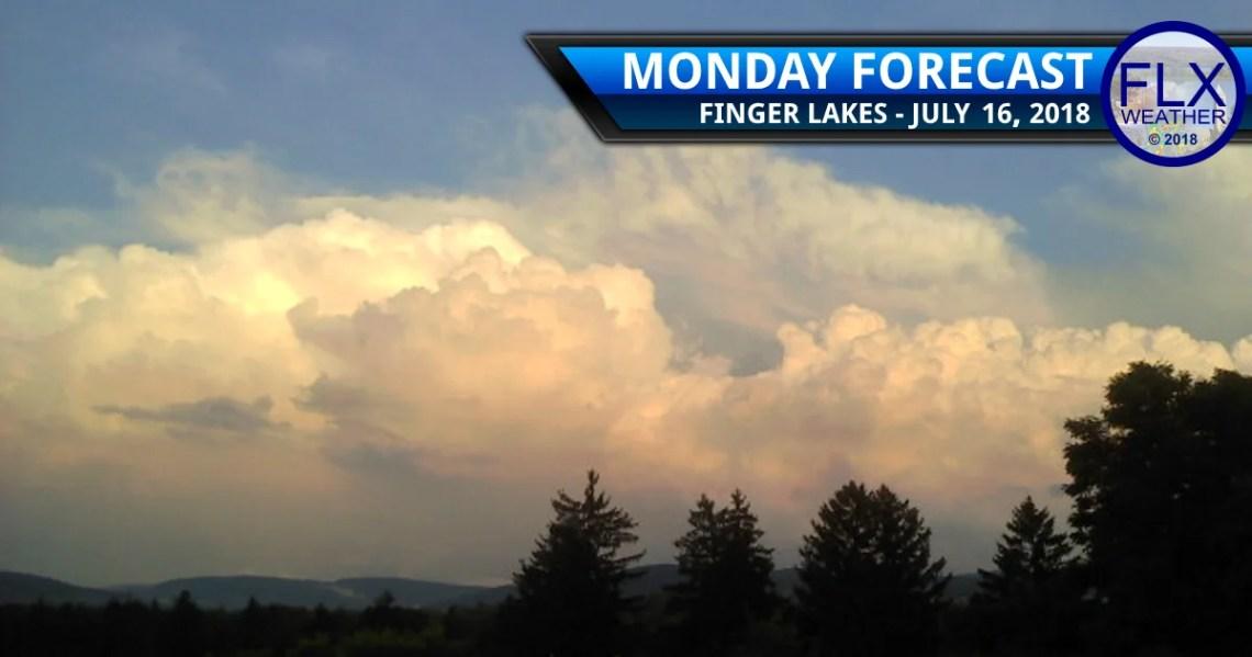 finger lakes weather forecast monday july 16 2018 tuesday july 17 2018