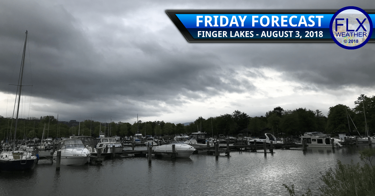 finger lakes weather forecast friday august 3 2018