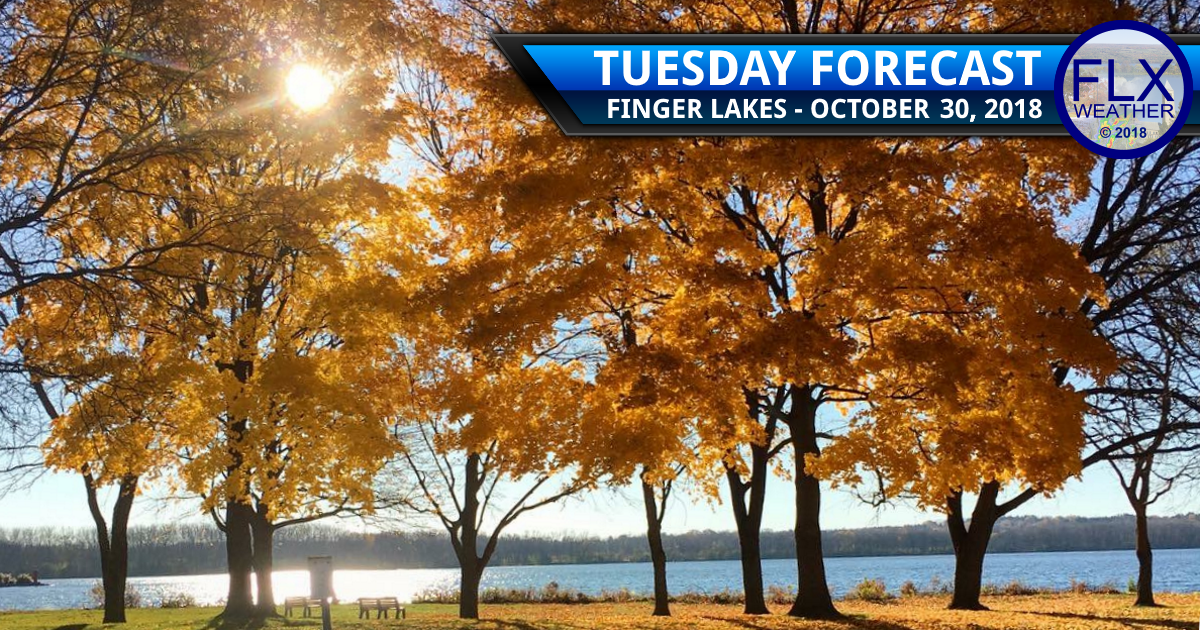 finger lakes weather forecast sunny clear skies halloween rain