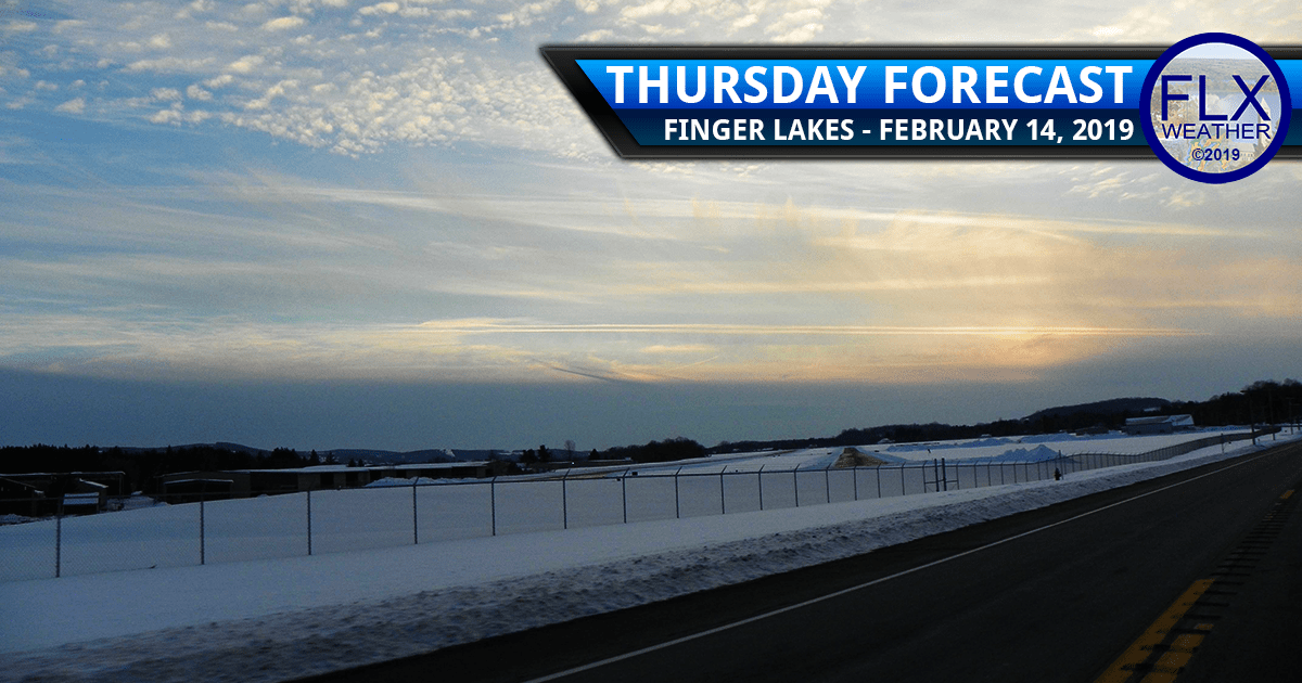 finger lakes weather forecast valentines day snow rain sun clouds