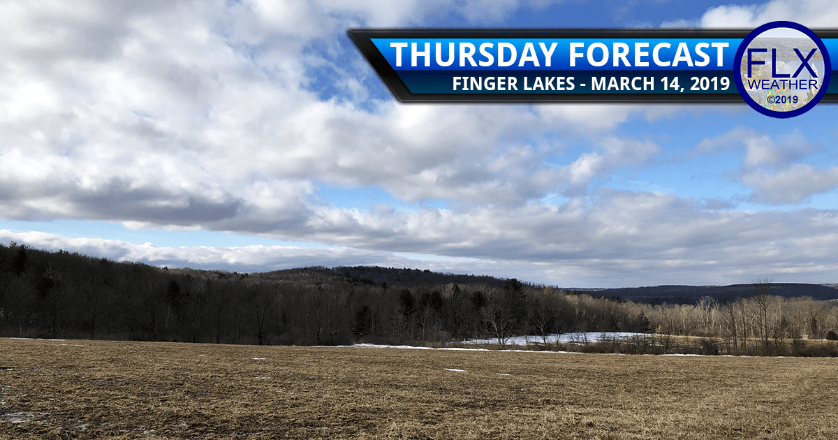 finger lakes weather forecast sun clouds rain wind warm up cold front