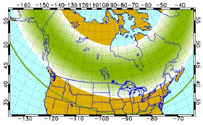 University of Alaska Fairbanks Geophysical Institute aurora forecast march 23 2019