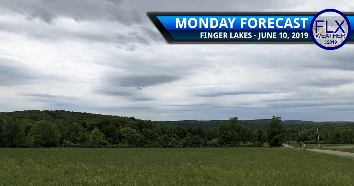 finger lakes weather forecast monday june 10 2019 rain showers cool week