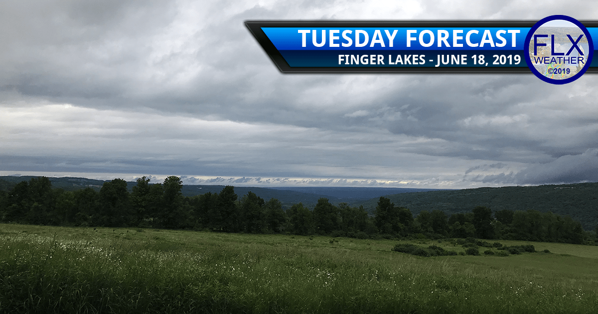 finger lakes weather forecast tuesday june 18 2019 morning rain showers