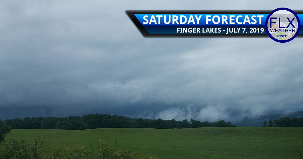 finger lakes weather forecast saturday july 7 2019 rain thunderstorms downpours lightning wind damage hail