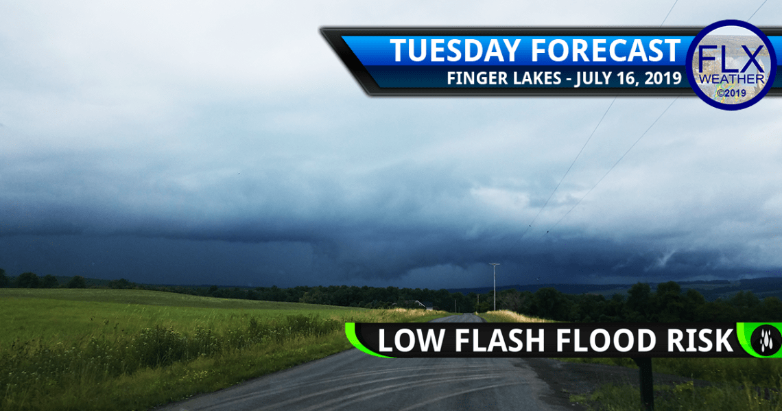 finger lakes weather forecast tuesday july 16 2019 thunderstorms heavy rain torrential downpours flash flooding