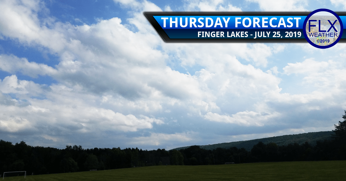 finger lakes weather forecast july 25 2019 sunny rain weekend weather warm temperatures summer