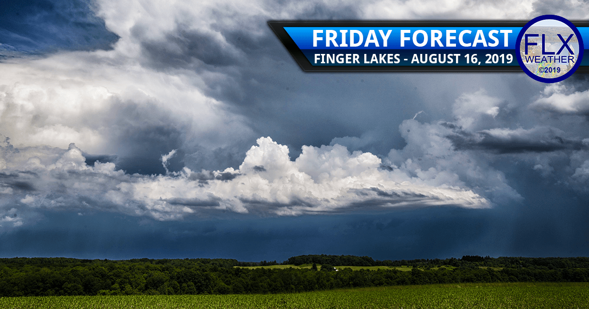 finger lakes weather forecast friday august 16 2019 thunderstorms strong storms damaging winds lightning saturday storms