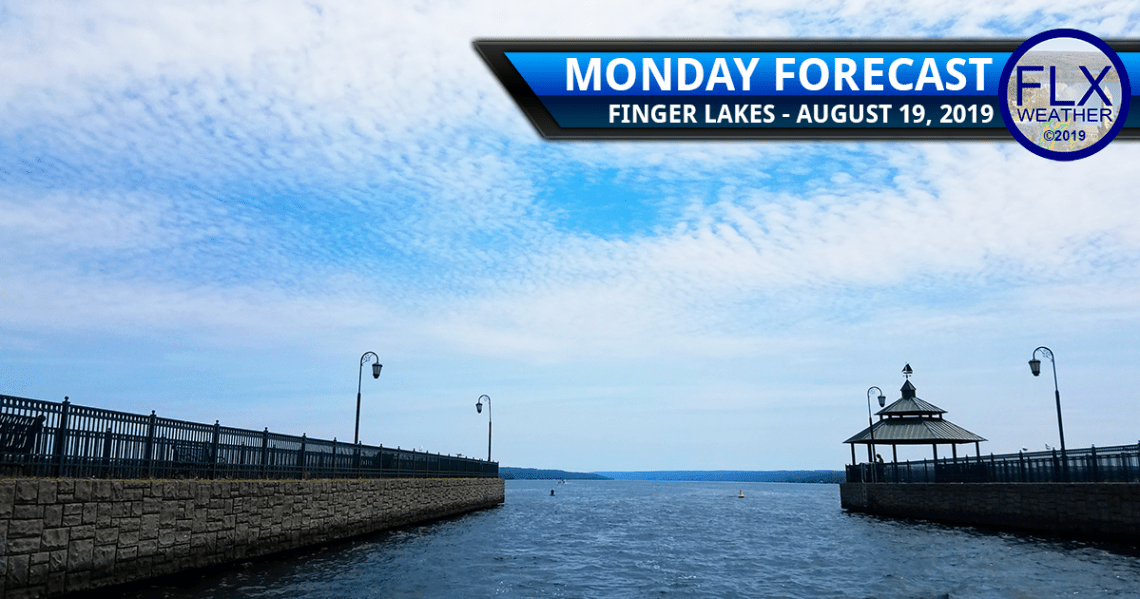 finger lakes weather forecast monday august 19 2019 sun clouds showers thunderstorms