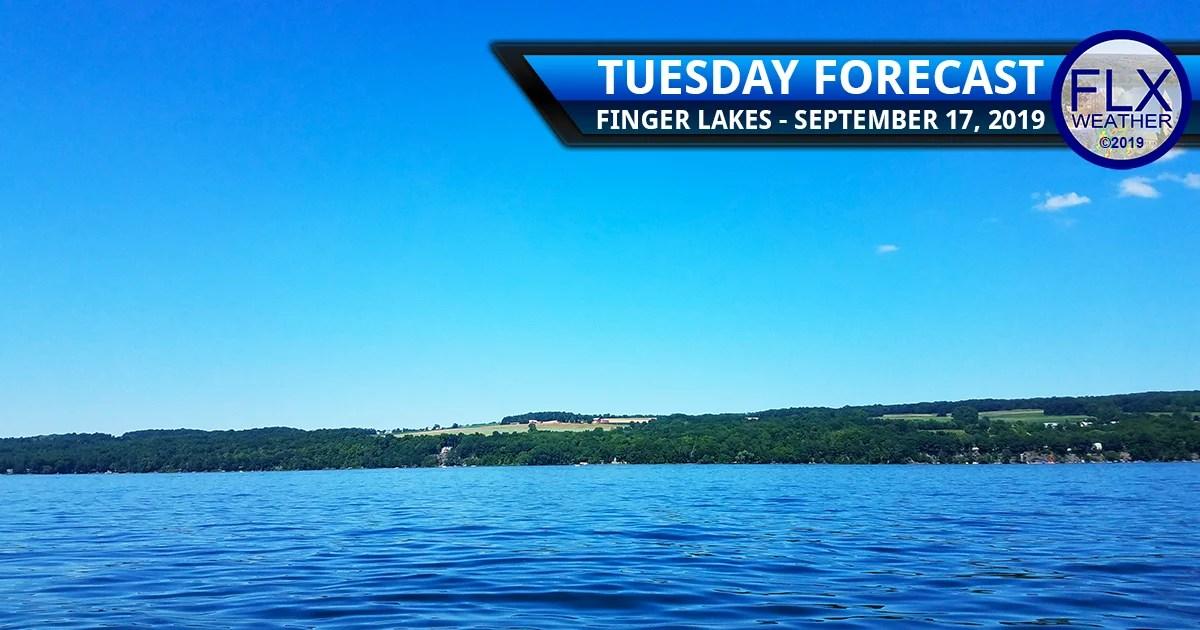 finger lakes weather forecast tuesday september 17 2019 sunny dry