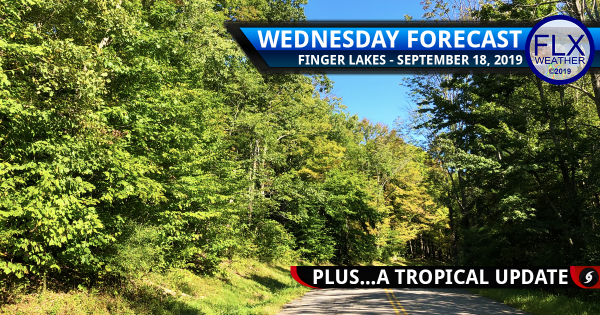 finger lakes weather forecast wednesday september 18 2019 sunny dry temperatures humberto imelda jerry