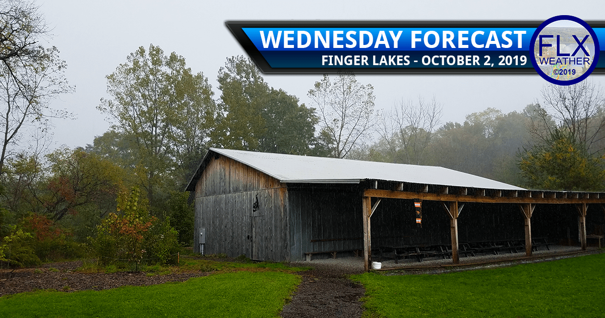 finger lakes weather forecast wednesday october 2 2019 cloudy rainy falling temperatures cold front