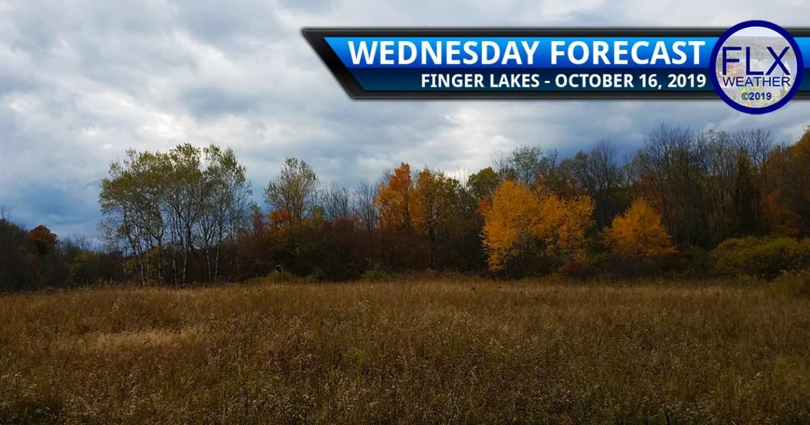 finger lakes weather forecast wednesday october 16 2019 rain wind thursday cool