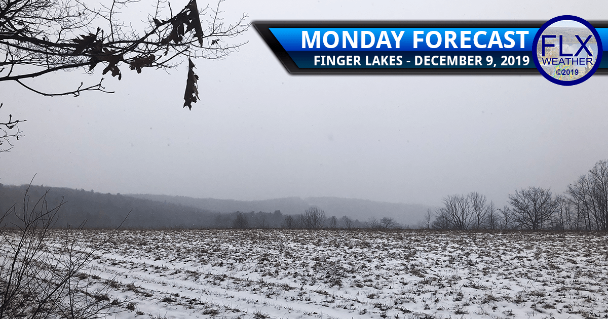 finger lakes weather forecast monday december 9 2019 rain mild temperatures cold front lake effect snow