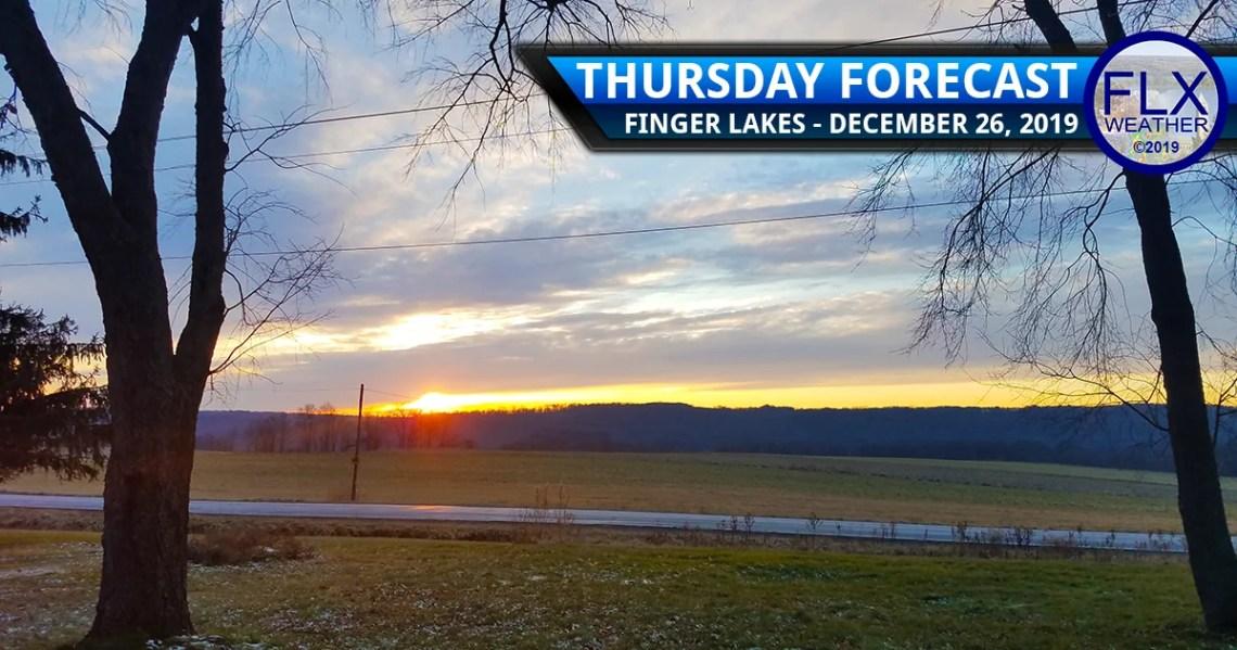 finger lakes weather forecast thursday december 26 2019 clouds sun rain mild temperatures