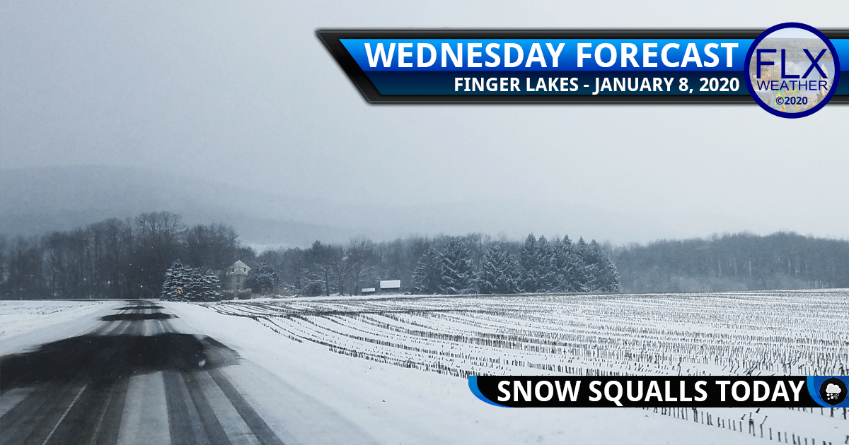 finger lakes weather forecast wednesday january 8 2020 snow squalls windy cold front