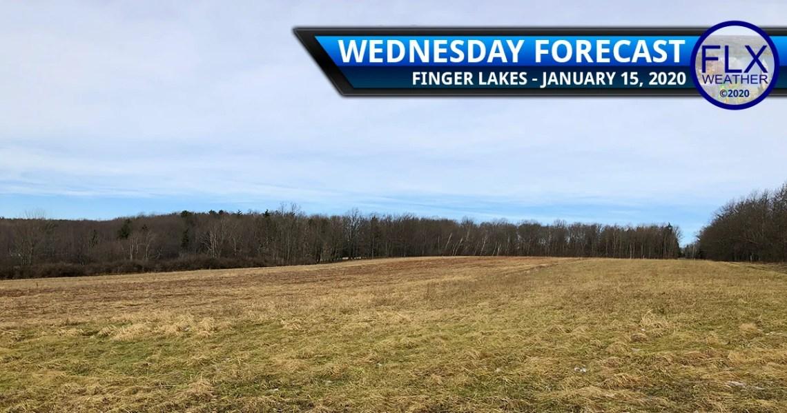 finger lakes weather forecast wednesday janaury 15 2020 sun snow wind lake effect