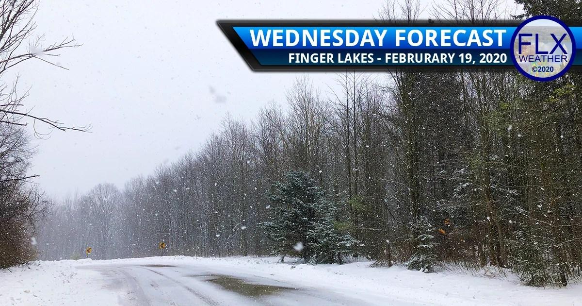finger lakes weather forecast wednesday february 19 2020 lake effect snow