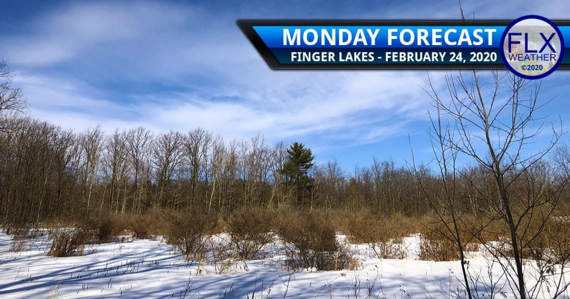 finger lakes weather forecast monday february 24 2020 sunny warm rain snow wind