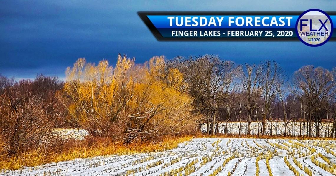 finger lakes weather forecast tuesday february 25 2020 rain snow lake effect