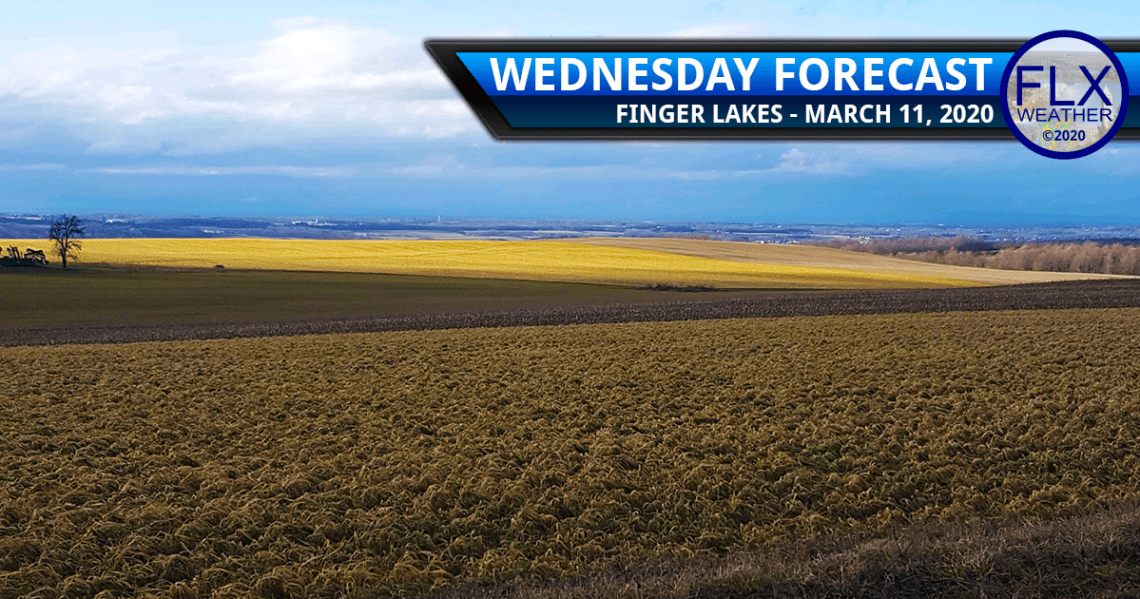 finger lakes weather forecast wednesday march 11 2020 sun clouds cooler