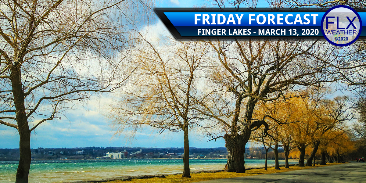 finger lakes weather forecast friday march 13 2020 cold front rain wind sunshine