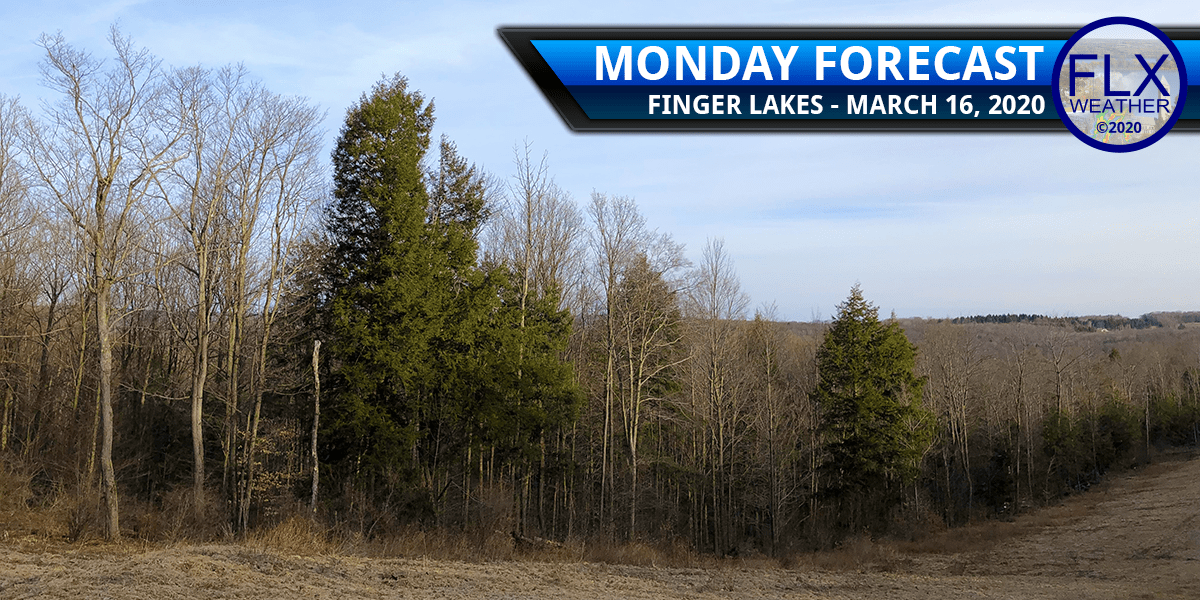 finger lakes weather forecast monday march 16 2020 sun clouds rain snow tonight