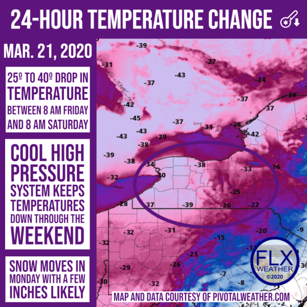 finger lakes weather forecast saturday march 21 2020