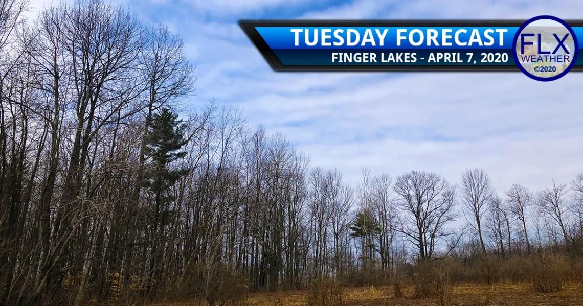 finger lakes weather forecast tuesday april 7 2020 sun clouds mild nighttime rain