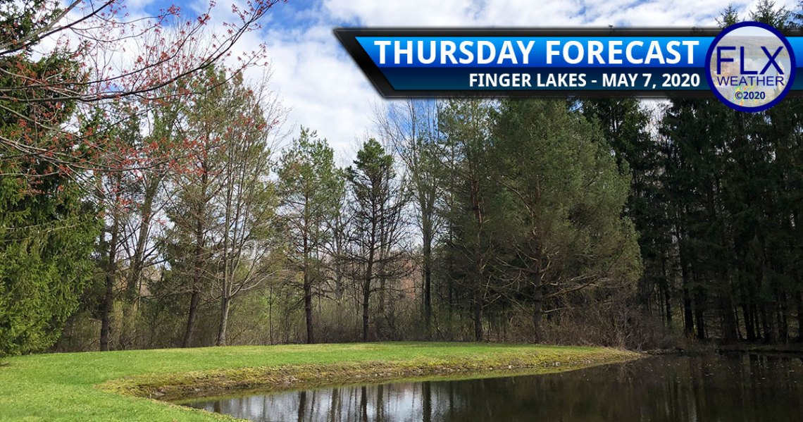 finger lakes weather forecast thursday may 7 2020 sun clouds rain showers cold front