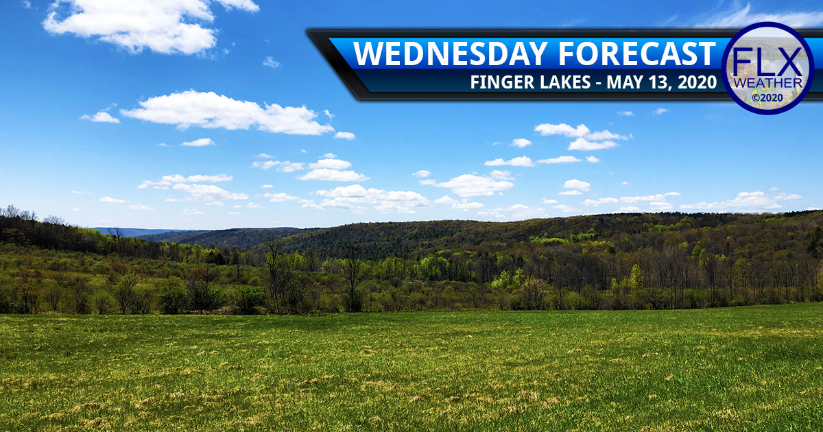 finger lakes weather forecast wednesday may 13 2020 sunny high pressure warming trend