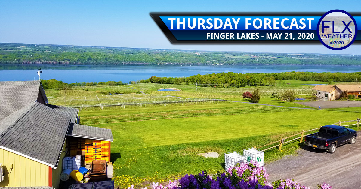 finger lakes weather forecast thursday may 21 2020