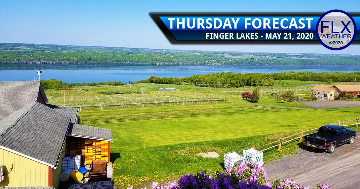 finger lakes weather forecast thursday may 21 2020