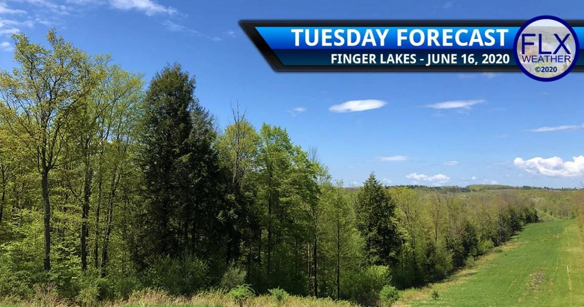 finger lakes weather forecast tuesday june 16 2020 sunny mild